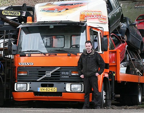 Fred Reuvers chauffeur Autorecycling Reuvers