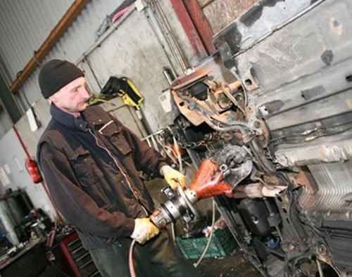 Maarten demontage specialist Autorecycling Reuvers